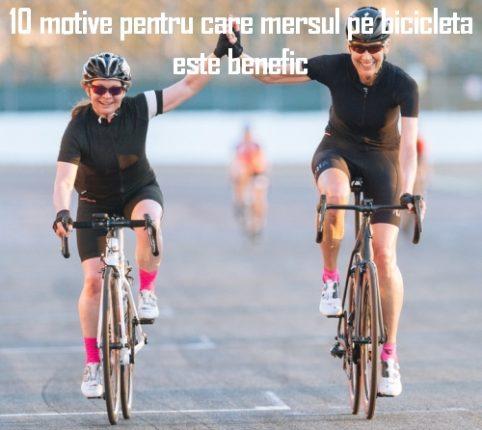 10 motive pentru care mersul pe bicicleta este benefic