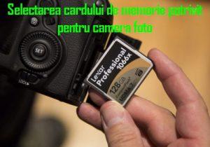 card memorie camera foto