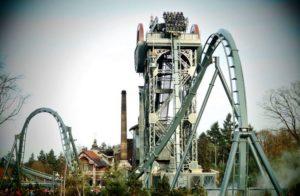 Roller-coaster din Efteling Park.