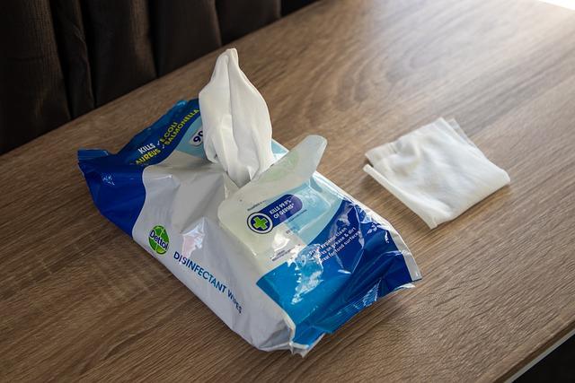 sevetele dezinfectante